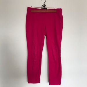 J. Crew | Hot Pink Minnie Pants | Size 2